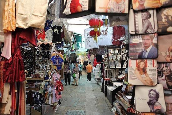 Stanley Market in Hong Kong