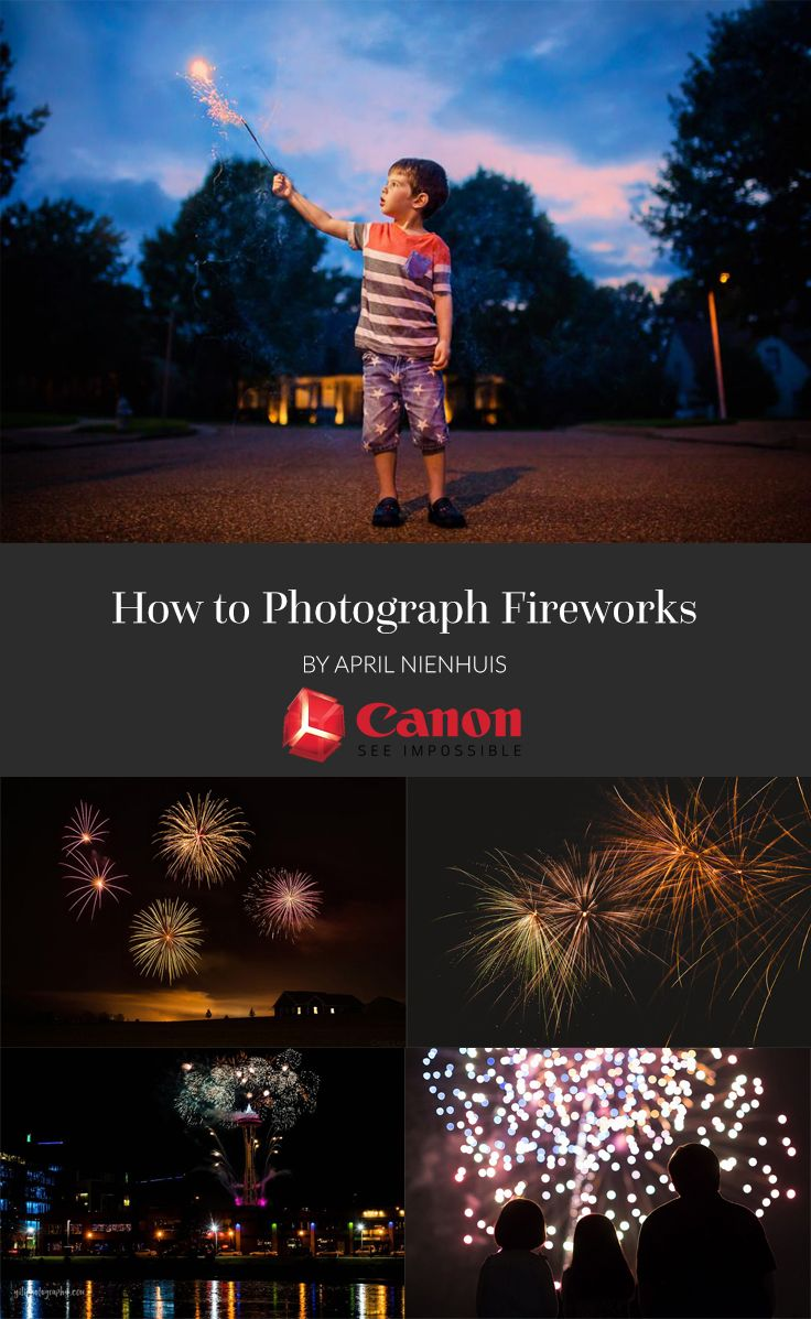 How to photograph fireworks!
