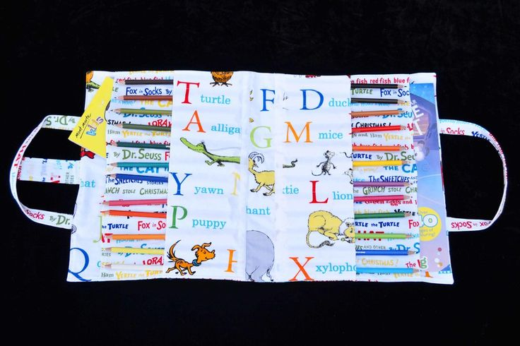 'Wick' Dr Suess Alphabet Art Caddy
