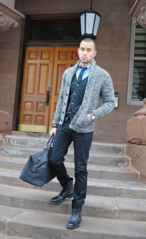 34 best Men's Shawl Collar Cardigan images on Pinterest ...