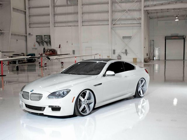 BMW 6-Series Poses Next to an Airplane | Super car