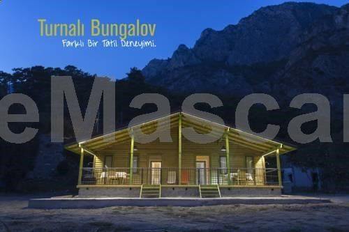 Turnalı Bungalow Kirankoy Offering a barbecue, Turnalı Bungalow is set in Kıranköy, 22 km from Marmaris. Dalyan is 46 km away. The accommodation is equipped with a flat-screen TV with satellite channels. Some units have a seating area and/or terrace.