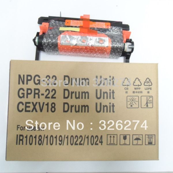 60.00$  Watch here - http://ali6r1.worldwells.pw/go.php?t=1243081473 - IR1018 Drum Unit/New Hihg Quality Copier Parts For Canon IR1019 IR1022 IR1024 Drum Kit NPG-32 Drum Unit GPR 22 CEXV18 Drum Unit 60.00$