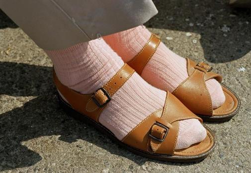 Martin Parr---- socks sandals