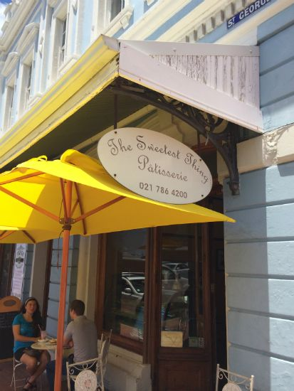 Best coffee and patisserie shop in Simon's Town called 'The Sweetest Thing'