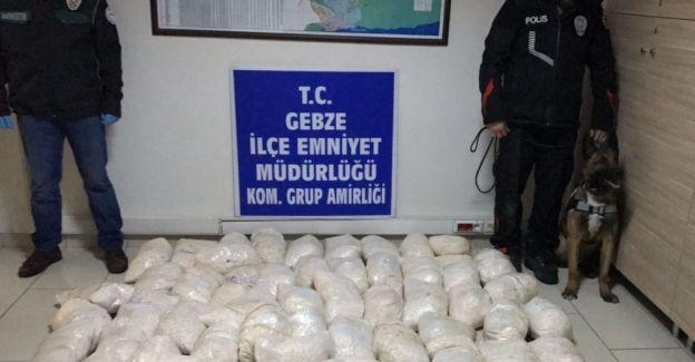 Gebze'de PKK'ya 40 milyonluk darbe