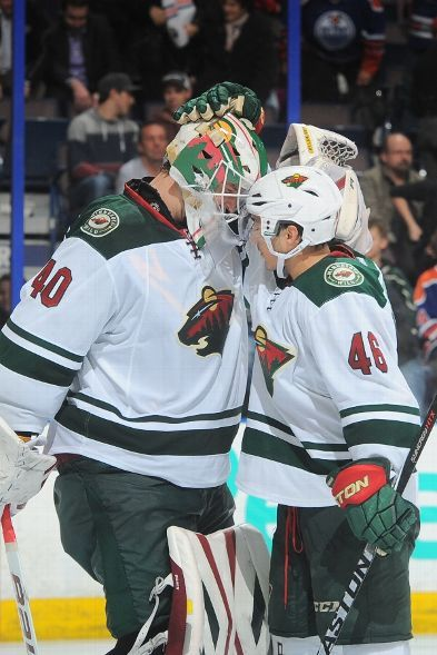 Devan Dubnyk, Minnesota Wild vs. Edmonton Oilers - Photos - January 27, 2015 - ESPN