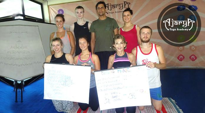 Learn different asanas and mudras in Rishikesh this January and become a Yoga Teacher!!
