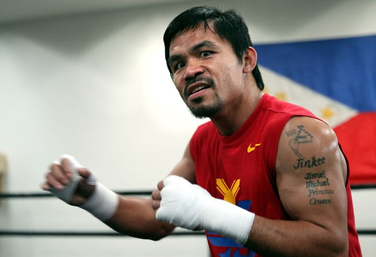 WBO welterweight champion, Manny Pacquiao, has confirmed that his next fight will take place in the United Arab Emirates - in April.
