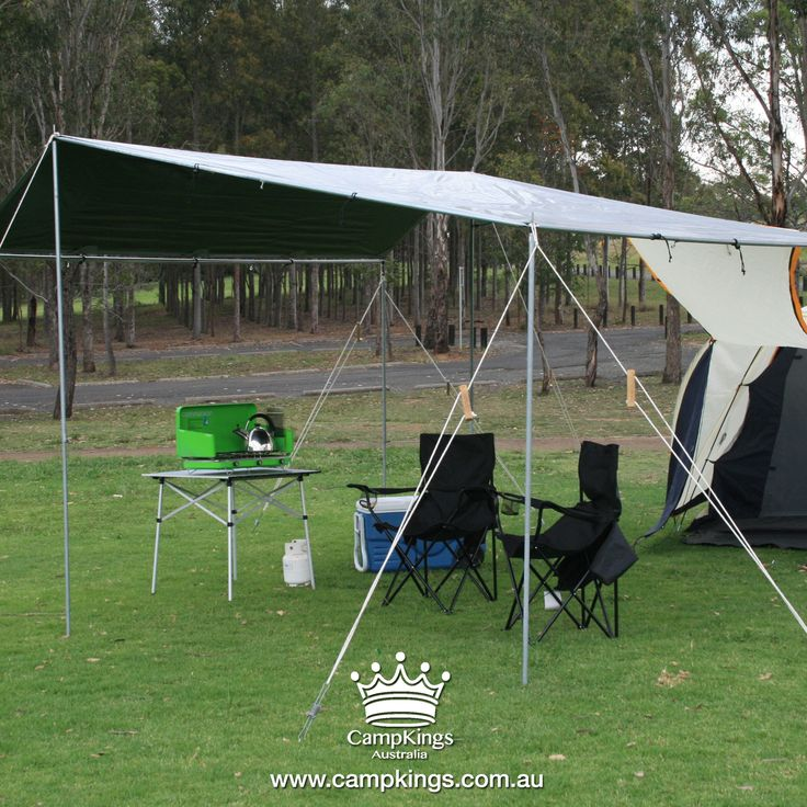 #EZIKIT from the #TarPOLEInRange is a small sized shelter solution designed for solo set up completely in under 25 minutes. Suitable for small campsites it is recommended for couples or small groups and is a great shelter solution at grassed events.