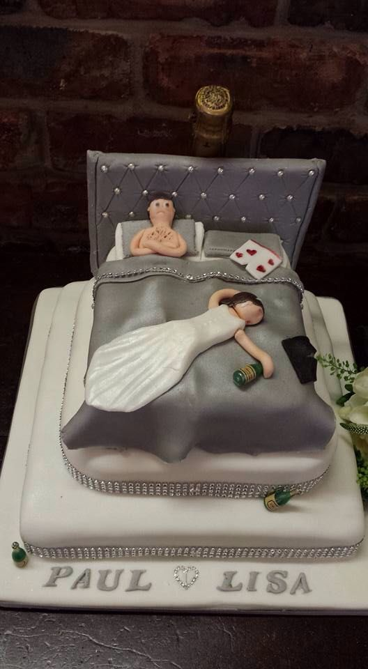 Spot on cake at the wedding I was at today.