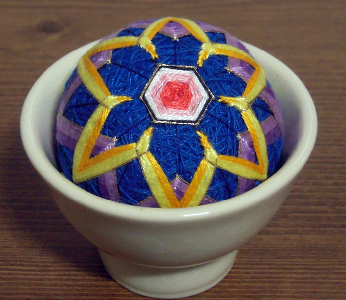 Korea Traditional Little Ball Embroidery Pin Cushion. This item is an application of a little ball embroidery in Korea. Korea little ball embroidery is made by shaping a little ball  roll a string into a ball and embroidering the ball with a wide range of patterns. Serve with a Oriental small tea cup - place this item on the tea cup and use it.  It's  exotic and convenient to do so. https://www.etsy.com/listing/150900075/korea-traditional-little-ball-embroidery $20
