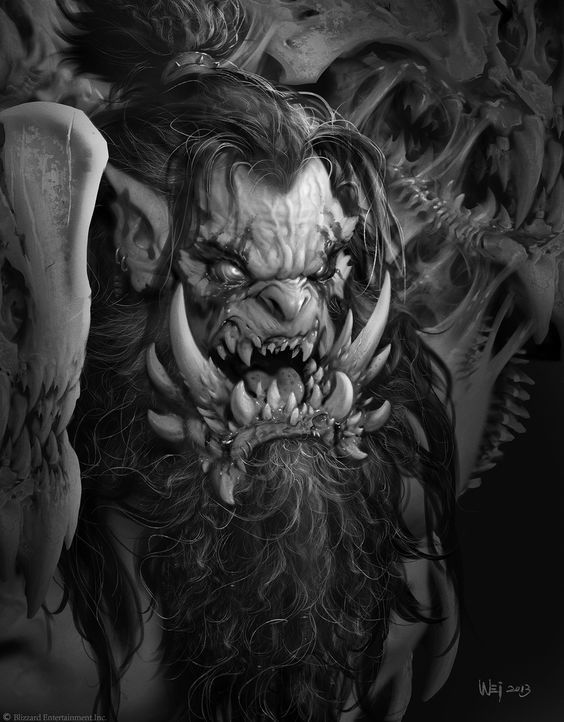 Difference Between Concept Art And Character Design : Best wei wang images on pinterest warcraft film