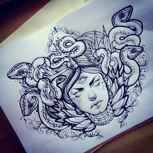 Definitivo #medusa for my best friend @tebabarracudaJayd Martin