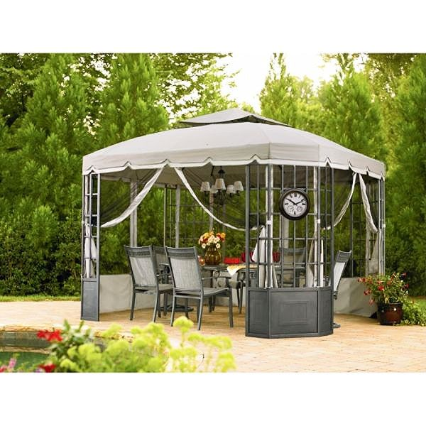 Bay Window Gazebo Replacement Canopy - RipLock 500