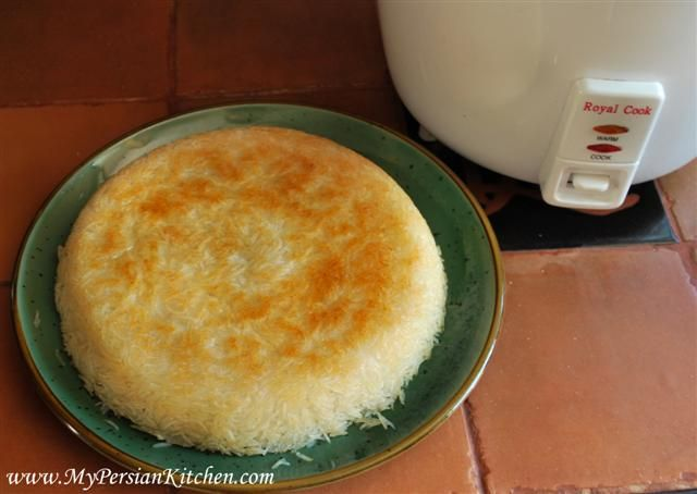 Persian Rice Cooking Method with Rice Cooker - My Persian Kitchen