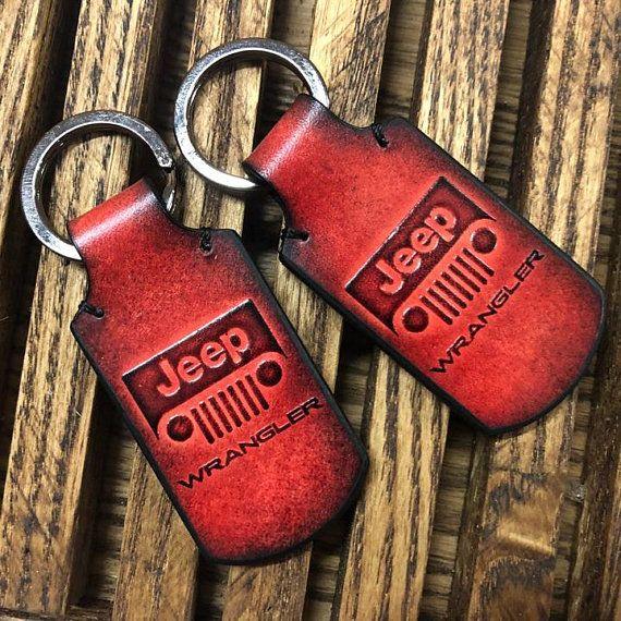 Jeep Wrangler Accessories Jeep Leather Keychain Wrangler