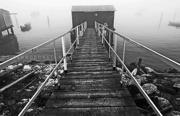 Foggy place