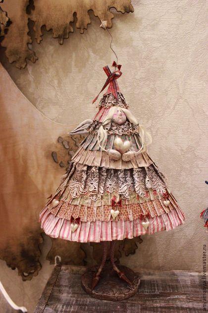 ёлка Саня - елка,новый год,новый год 2015,авторская работа,коллекционная кукла