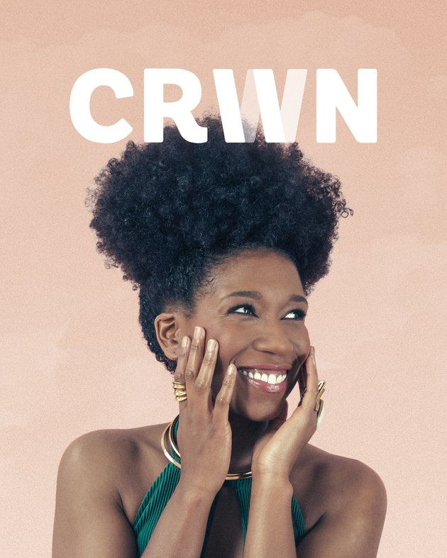 First ever cover of CRWN Magazine -- get yours today! www.crwnmag.com/pre-order