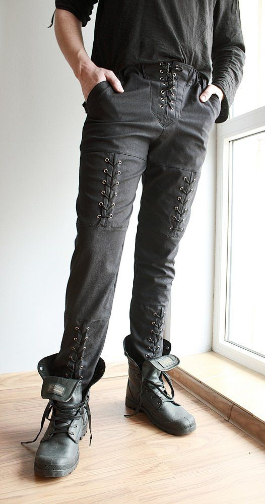 Image of Pants with Lacing