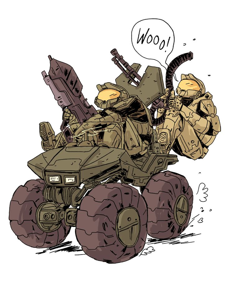 Riding around on the Warthog in Halo sure was a lot of fun. by Zac Gorman