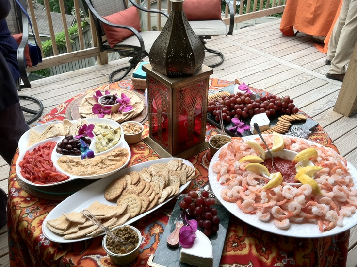 Deck Party Fundraiser At Our Lake Home Last Year. We Went With A Middle  Eastern Flare. | My Style | Pinterest | Deck Party