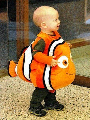 Simpático disfraz de Nemo para niños