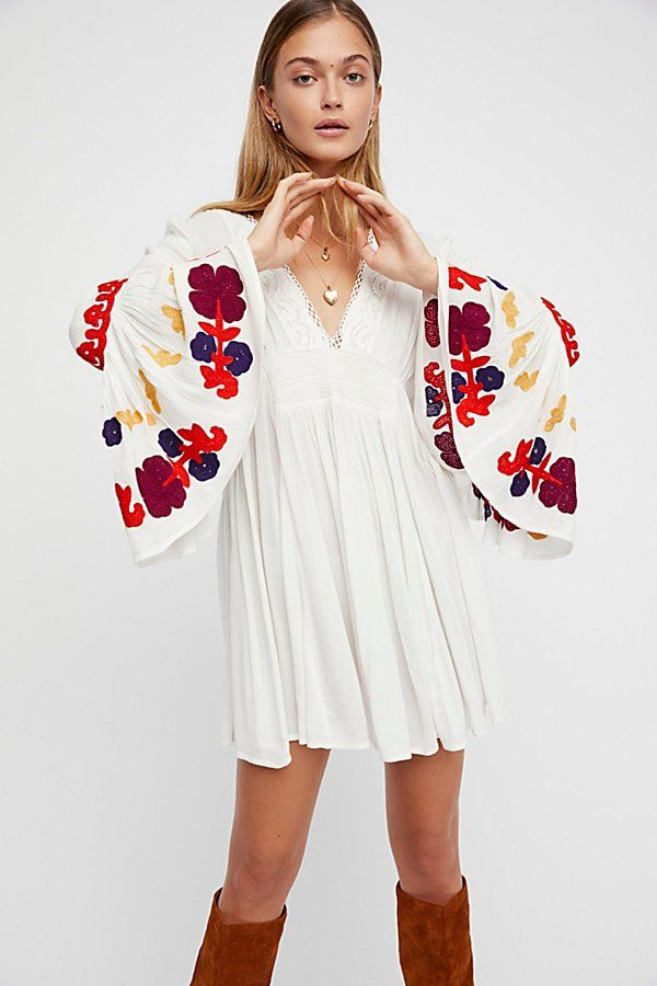 b3ac5c2c736 Slide View 1: So In Love Embroidered Tunic Embroidery Dress, Embroidered  Tunic, Hobo