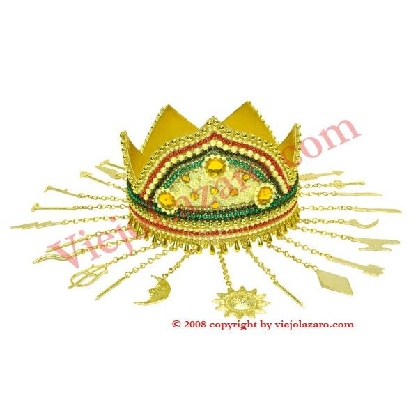 Oshun Ololodi | Beaded crown of Oshun (Ibu kole)