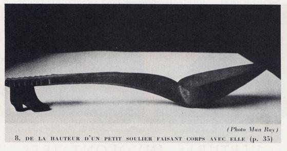 """Andre Breton's """"Slipper Spoon"""":"""