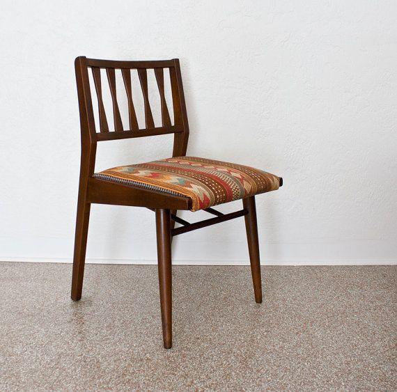 Mid Century Modern Southwestern Chair by kibster on Etsy