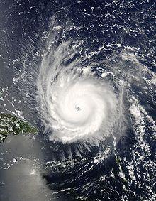 Hurricane Frances -My first hurricane