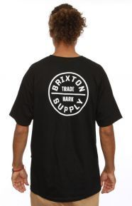 Brixton Clothing, Oath T-Shirt - Black