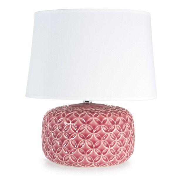 Lampada rosa fucsia in ceramica H 34 ...