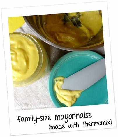 No success with mayonnaise in the Thermomix in the past...I want to have a crack at this one though! How lovely and creamy does it look?