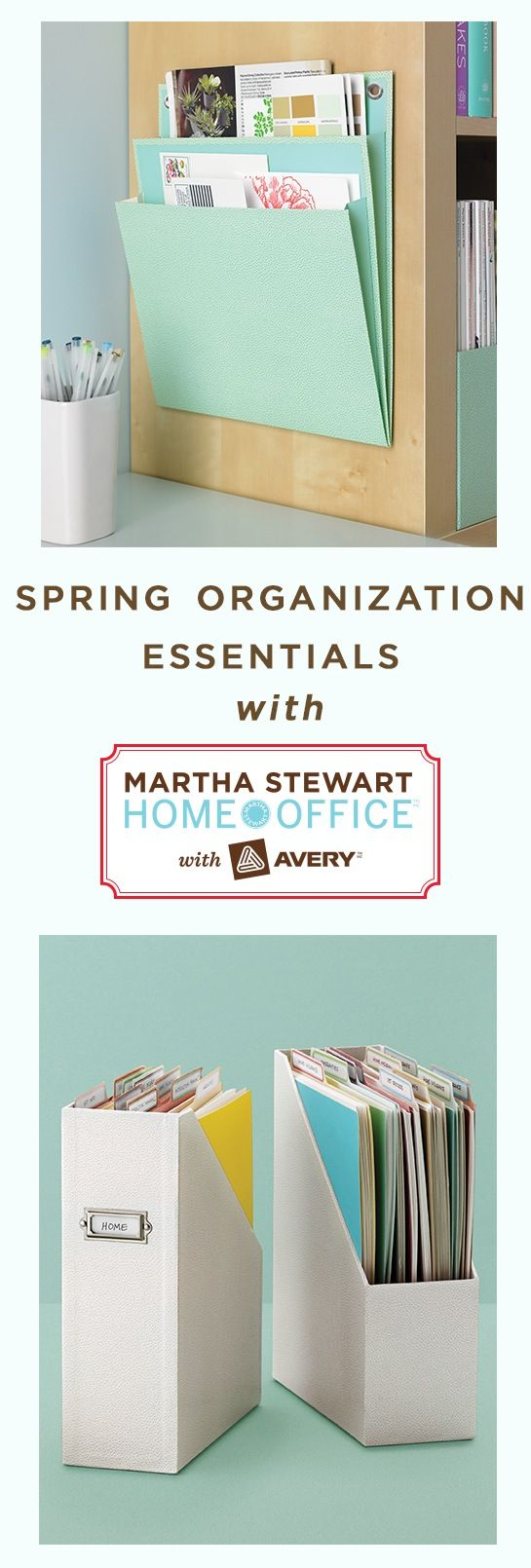 Nine #MarthaStewartHomeOffice products that will simplify your spring cleaning and organizing