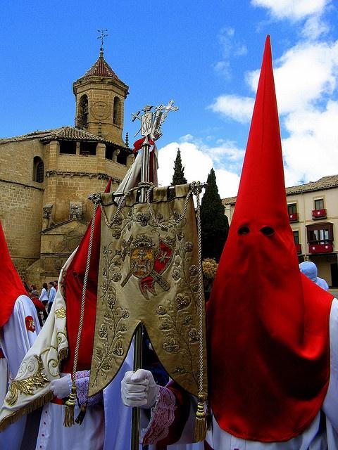 Antiguos banderines. El Resucitado