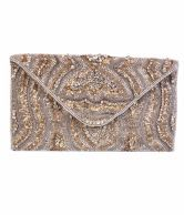 Diwaah Silver Clutch. Just for Rs 2499/-