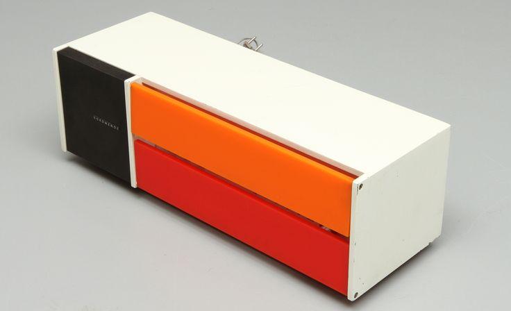 "Nordmende, ""Spectra Futura"" radio, design Raymond Loewy, 1968."