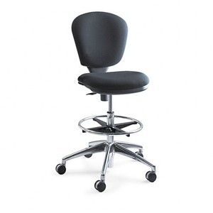 Safco : Metro Extended Height Swivel/Tilt Chair, 22-33 Seat Height, Black/Fabric -:- Sold as 2 Packs of - 1 - / - Total of 2 Each