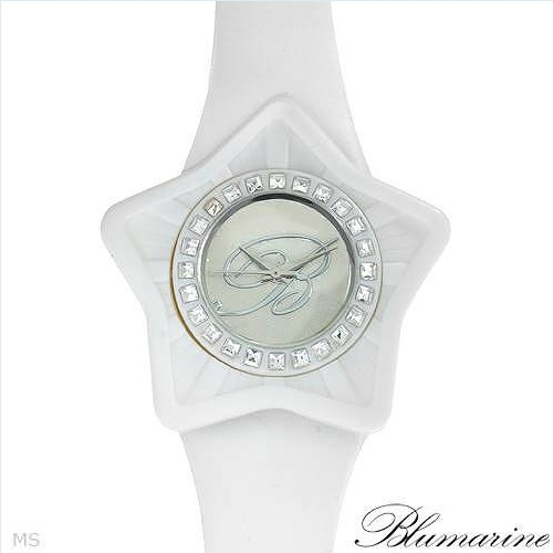 BLUMARINE Brand New Watch With Genuine Crystals  - Certificate Available.