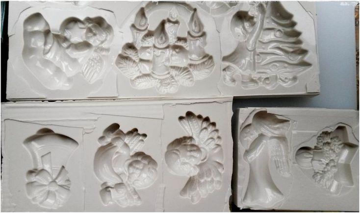 Kétkomponensű szilikonból készült sablon