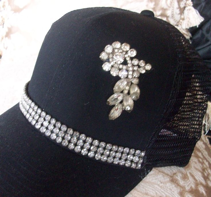 LOVE this hat! from #TheCrystalRose on Bonanza.com, Christmas in July Sale $22.00 w/free ship