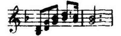 The Sieglinde ([character]) Leitmotive from Wagner's Die Walküre.