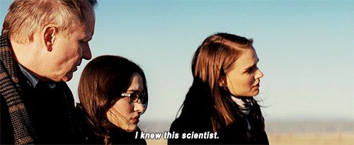 I knew this scientist. || Erik Selvig, Darcy Lewis, and Jane Foster || Thor || #quotes