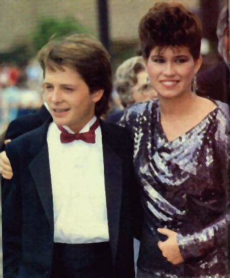 Michael J. Fox & Nancy McKeon