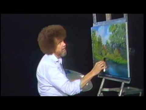 """""""We don't make mistakes - we have happy accidents"""" #BobRoss"""