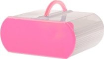 Bakers Sto 'N Go7-Piece Container Set,  Pink