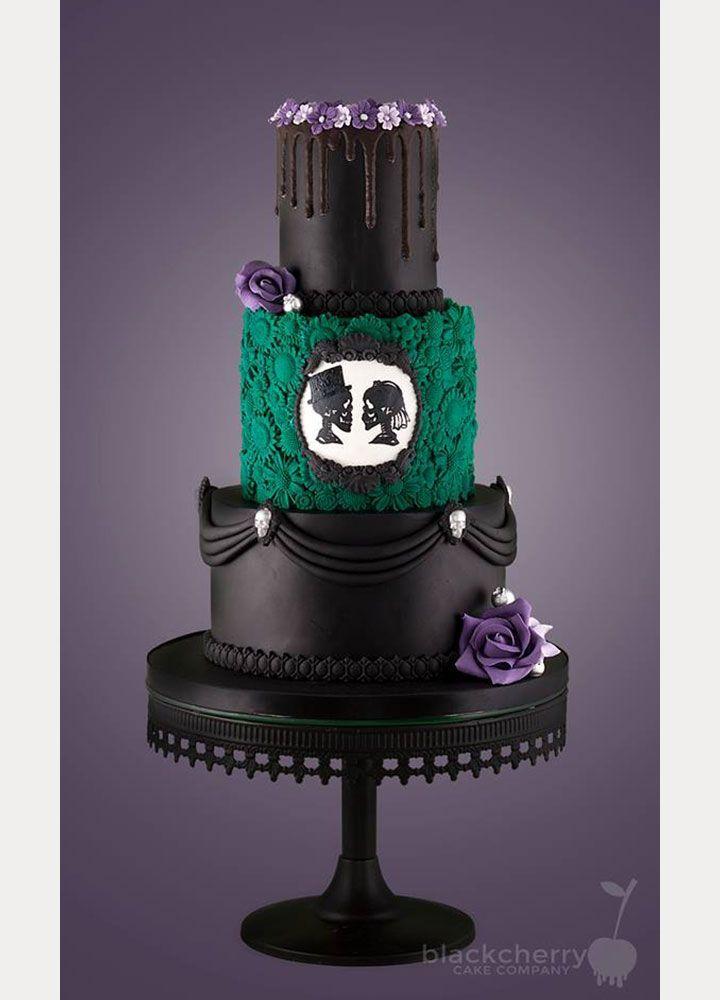 Best 25 Skull Wedding Cakes Ideas On Pinterest Gothic